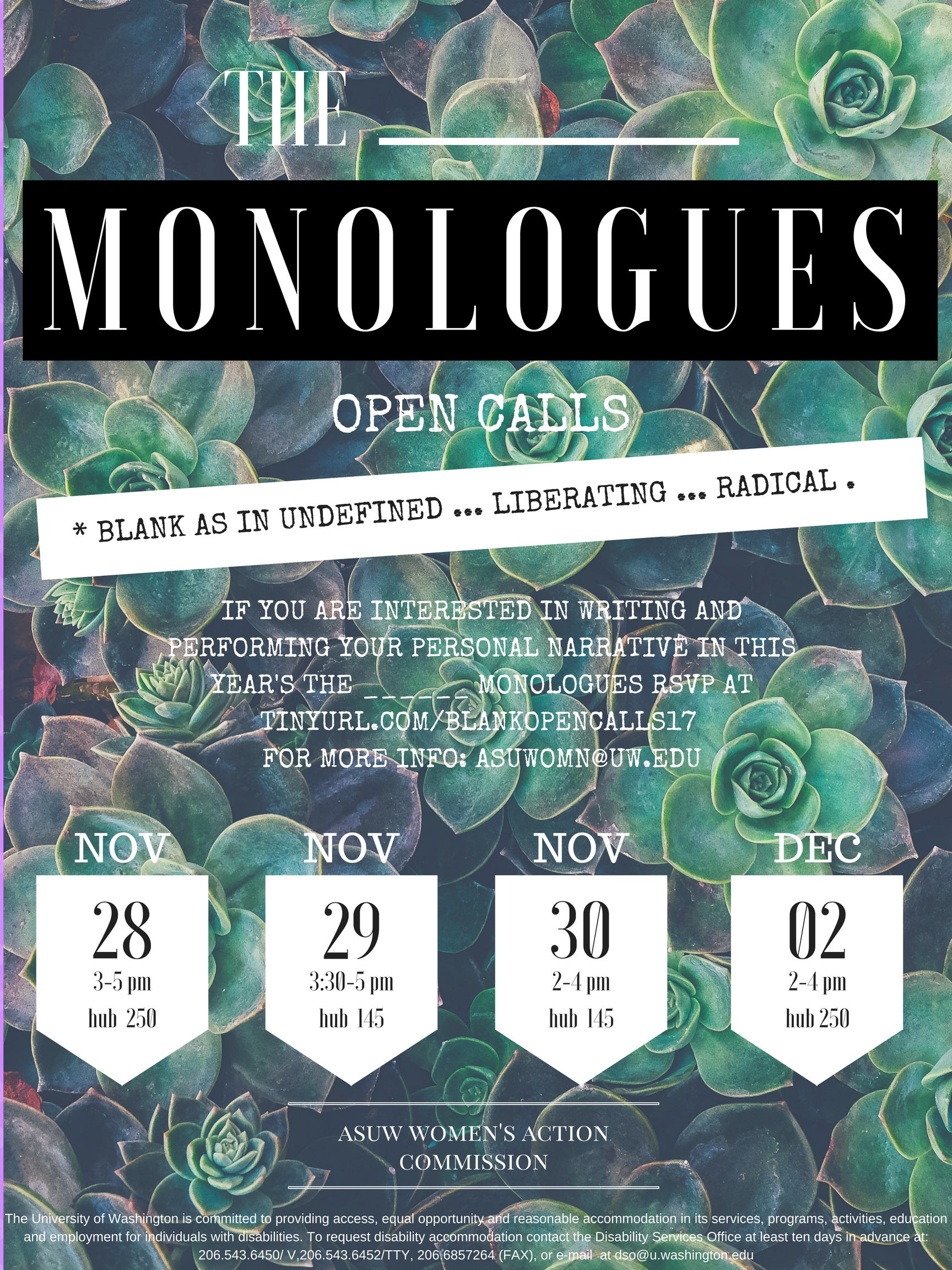 THE ____MONOLOGUES
